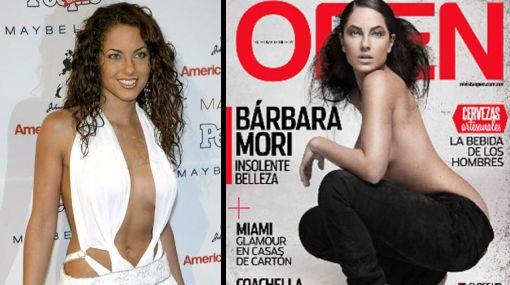 Bárbara Mori se mostró en 'topless' en sesión fotográfica