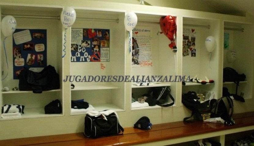 FOTOS: el vestuario de Alianza Lima que llenó de emoción al equipo para ganar el clásico