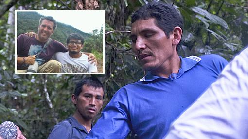 El testimonio de uno de los periodistas que encontró a 'Gabriel' en el VRAE