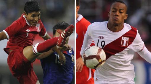Alternativas de Perú si Juan Vargas no llega al partido contra Colombia