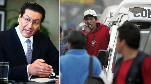 Ejecutivo no mediará entre Villarán y gremios opositores a reforma del transporte
