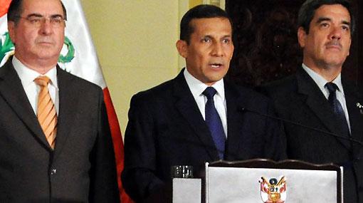 Lee aquí el mensaje del presidente Humala sobre el proyecto Conga