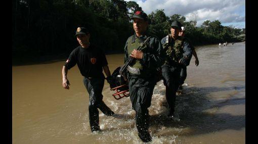 Policía confirmó masiva intoxicación de agentes en base de Madre de Dios
