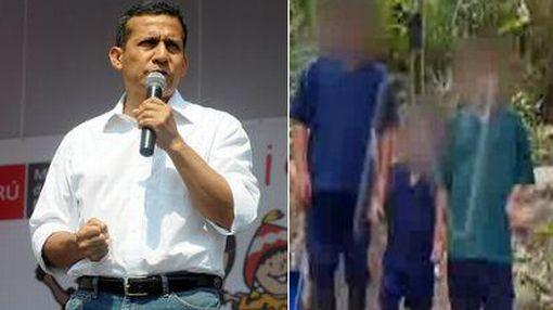 """Humala sobre niños de SL: """"Estamos tomando medidas para rescatarlos de insanía terrorista"""""""