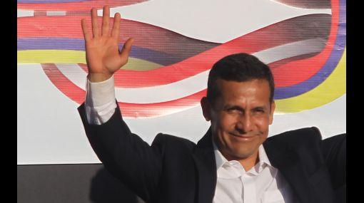 Aprobación del presidente Ollanta Humala subió a 56%