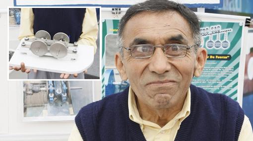 El inventor peruano que ganó el bronce en Mundial de Inventos en Suiza