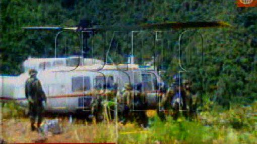 Helicóptero caído en el VRAE no fue destruido por terroristas