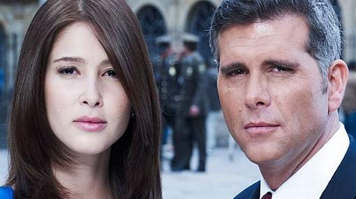 Actriz colombiana negó romance con el peruano Christian Meier