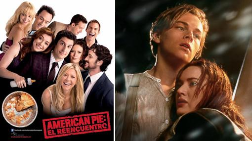 """¿Qué prefieres ver? """"Titanic 3D"""" o """"American Pie: el reencuentro"""""""