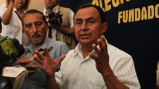 Gregorio Santos dará en el Congreso conferencia sobre su gestión