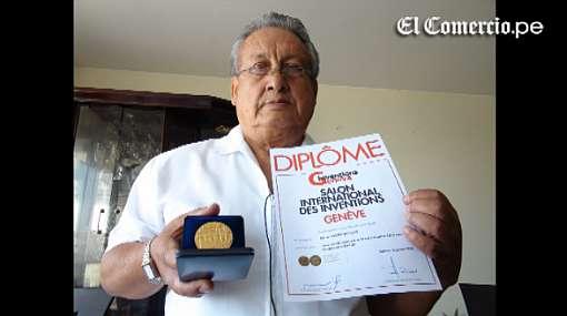 Médico peruano también participó en mundial de inventos y ganó medalla de oro