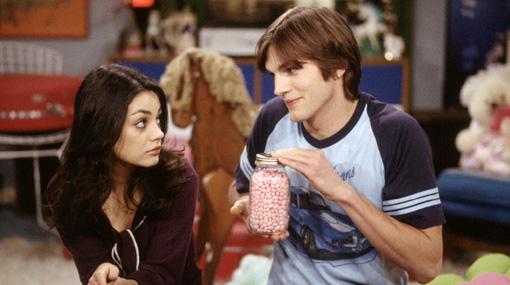 "Mila Kunis sobre presunto romance con Ashton Kutcher: ""Un amigo es un amigo"""