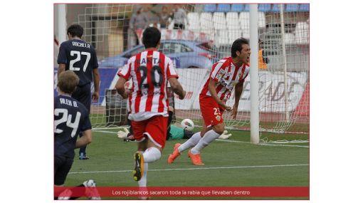 El Almería venció al líder de Segunda y sueña con volver a Primera
