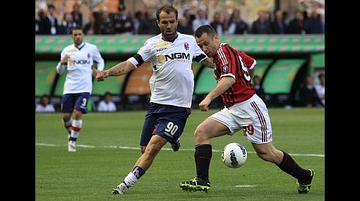 Cassano marcó por primera vez en goleada del Milan tras su mal cardíaco