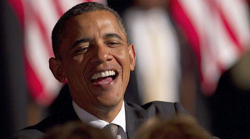 Barack Obama se burló de su rival republicano Romney