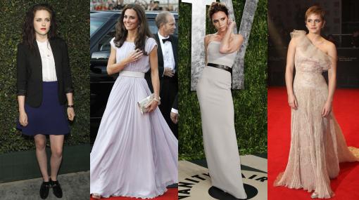 Chicas de moda: ¿Quién es la famosa mejor vestida del 2012?