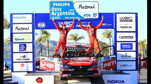 Nicolás Fuchs terminó segundo en el Rally de Argentina