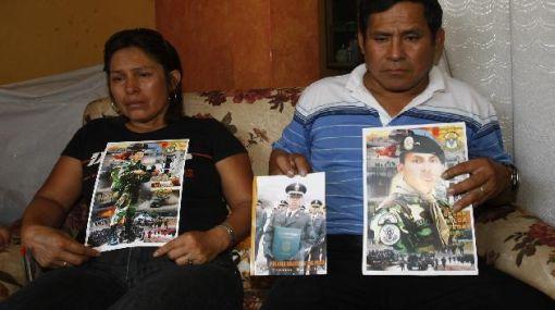 Familiares de policía Vilca mantienen hermetismo tras hallazgo de Astuquillca