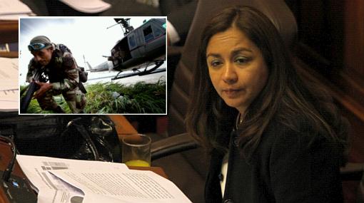 """Vicepresidenta defendió la lucha en el VRAE: """"Tenemos una estrategia"""""""
