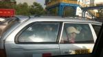 Pasajeros viajan en la maletera de un auto en la Vía de Evitamiento - Noticias de cesar carmelino