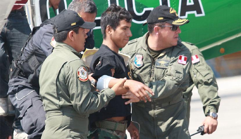 FOTOS: así fue el reencuentro del policía Luis Astuquillca con su familia