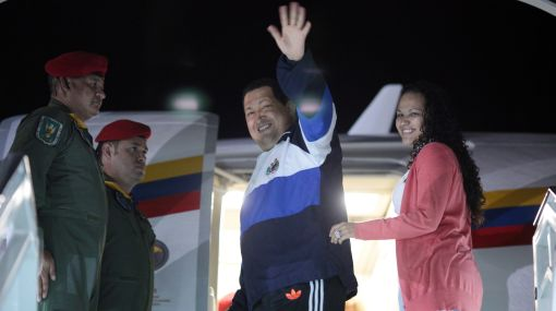 Hugo Chávez volvió a Cuba para seguir con su lucha contra el cáncer