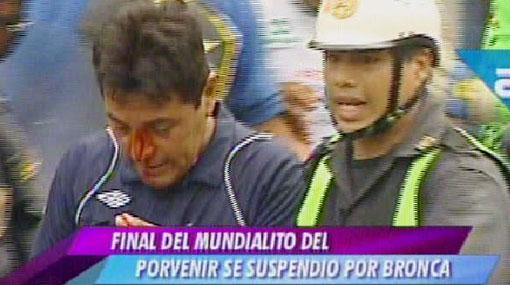 Mundialito de El Porvenir se quedó sin campeón por bronca