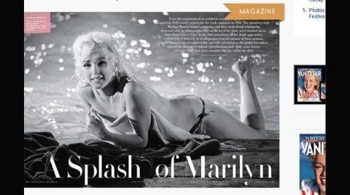 Publican desnudos inéditos de Marilyn Monroe