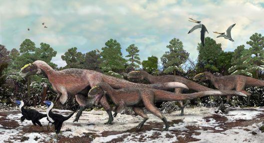 Algunos dinosaurios desaparecieron antes de la caída del meteorito