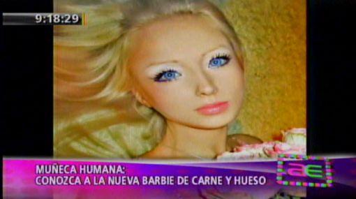 Una nueva 'Barbie humana' causa revuelo en Internet
