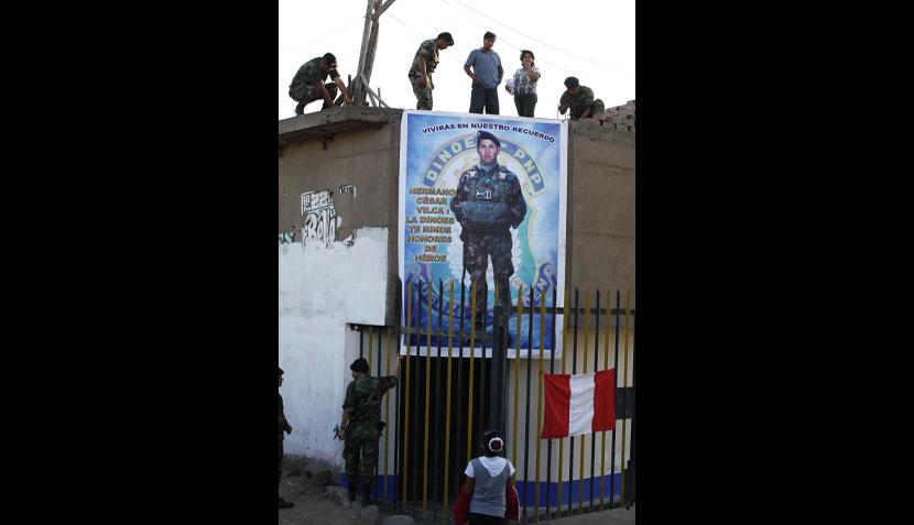 FOTOS: el sentido velorio de César Vilca en su barrio de San Martín de Porres