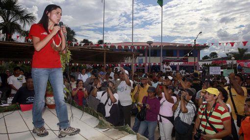 """Nadine Heredia: """"El presidente está luchando contra el terrorismo de manera franca"""""""