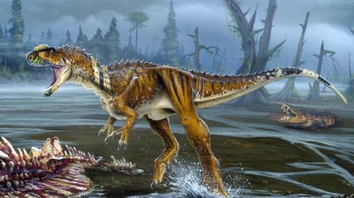 Los dinosaurios fueron atacados por pulgas gigantes