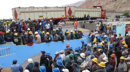 Federación minera amenaza con paro nacional para 14 y 15 de mayo