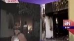 Mueren 14 personas tras incendiarse centro de rehabilitación en Chosica - Noticias de centro de rehabilitación cristo es amor