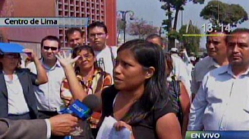 Trabajadores del Poder Judicial mantienen huelga en Lima y provincias