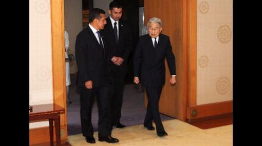 Ollanta Humala se reunió con el emperador Akihito en Japón