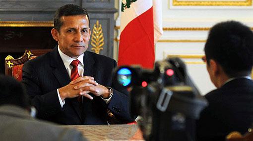 Humala cerró visita a Tokio con rueda de prensa para viajar a Corea