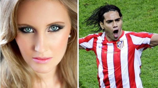 "Esposa de Radamel Falcao: ""Estamos superfelices en Atlético de Madrid"""
