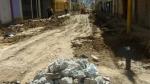 Huánuco: vecinos molestos por asfaltado inconcluso de pistas y veredas - Noticias de esteban crespo