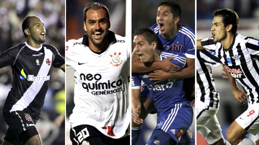Así se jugarán los cuartos de final de la Copa Libertadores 2012