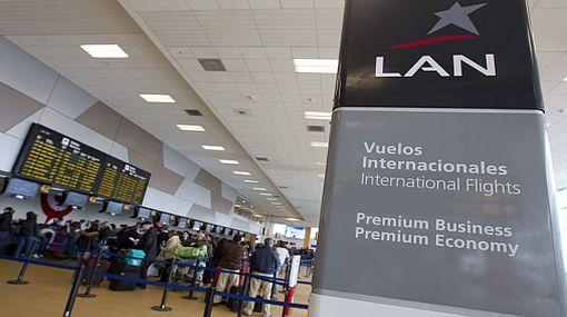 Ganancias de LAN cayeron 21,8% en el primer trimestre