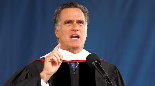 Romney defendió el matrimonio como la unión entre un hombre y una mujer