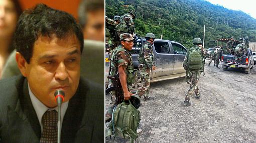 Otárola pidió a la oposición propuestas concretas para lucha en el VRAE