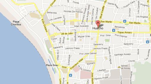 Sismo de 4,4 grados Richter se sintió en Huacho esta tarde