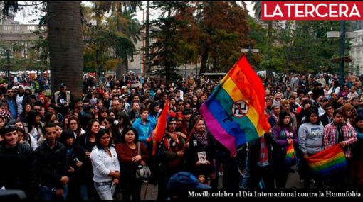 Miles de personas conmemoraron en Chile el Día contra la Homofobia