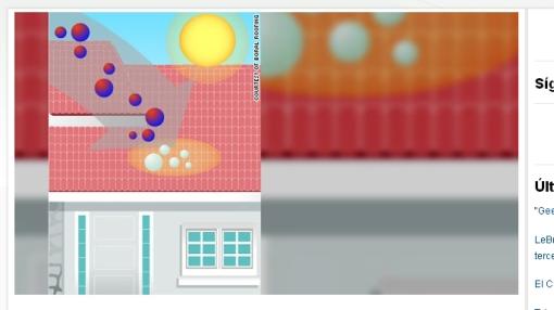 Tejas que absorben 'smog' son una alternativa ante la contaminación