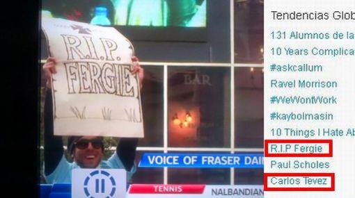 Carlos Tevez se burló de Alex Ferguson y de paso 'mató' a Fergie