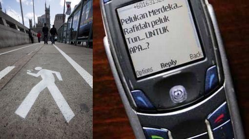 EE.UU.: policía no multará por envíar SMS al caminar