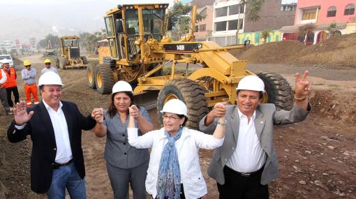 Ampliación de Av. Javier Prado en Ate culminará en dos años
